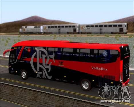 Marcopolo Paradiso 1200 G7 4X2 C.R.F Flamengo für GTA San Andreas Innen