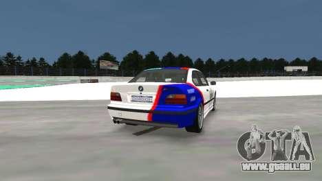 BMW M3 E36 pour GTA 4 Vue arrière de la gauche