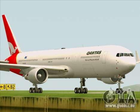 Boeing 767-300ER Qantas für GTA San Andreas Innenansicht