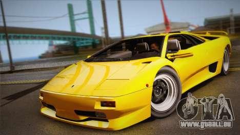 Lamborghini Diablo SV 1997 für GTA San Andreas