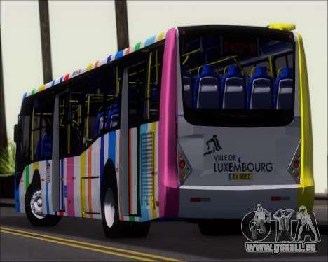 Caio Millennium II Volksbus 17-240 pour GTA San Andreas vue de dessus