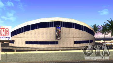 HD-Texturen-Stadion in Las Venturas für GTA San Andreas zweiten Screenshot