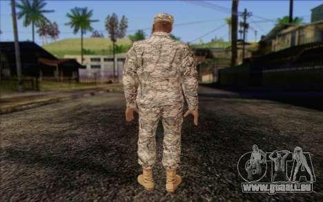 California National Guard Skin 4 pour GTA San Andreas deuxième écran