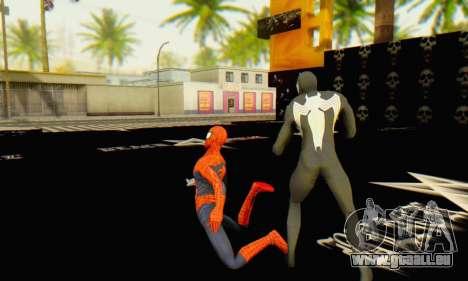 Skin The Amazing Spider Man 2 - Molecula Estable pour GTA San Andreas cinquième écran