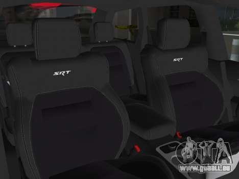 Jeep Grand Cherokee SRT-8 (WK2) 2012 pour GTA Vice City vue latérale