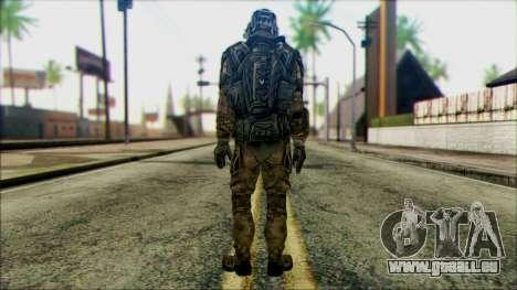 Les soldats de l'équipe de Fantôme 1 pour GTA San Andreas deuxième écran