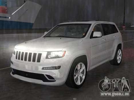 Jeep Grand Cherokee SRT-8 (WK2) 2012 für GTA Vice City Rückansicht