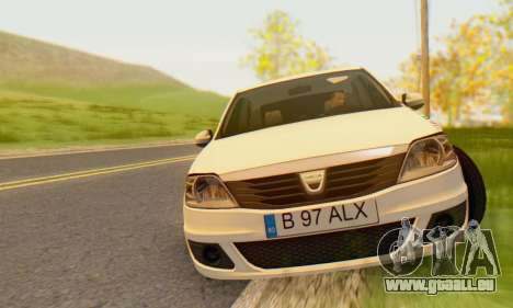 Dacia Logan 2013 pour GTA San Andreas