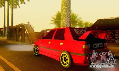 Dacia Super Nova Tuning pour GTA San Andreas sur la vue arrière gauche