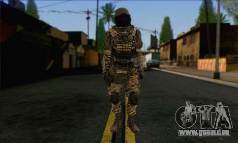 Task Force 141 (CoD: MW 2) Skin 9 pour GTA San Andreas