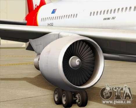 Boeing 767-300ER Qantas für GTA San Andreas Räder