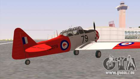 North American T-6 TEXAN NZ1079 für GTA San Andreas linke Ansicht