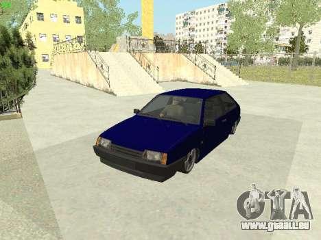 VAZ 2108 für GTA San Andreas Rückansicht