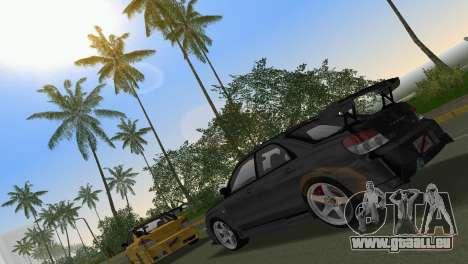 Subaru Impreza WRX STI 2006 Type 3 pour GTA Vice City vue latérale