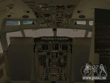 Boeing 737-84R Ukraine International Airlines für GTA San Andreas Räder