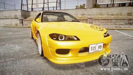 Nissan Silvia S15 Street Drift [Updated] pour GTA 4