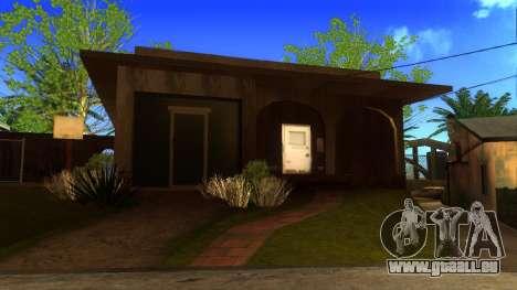 Neue HD-Texturen Häuser auf der grove street v2 für GTA San Andreas fünften Screenshot