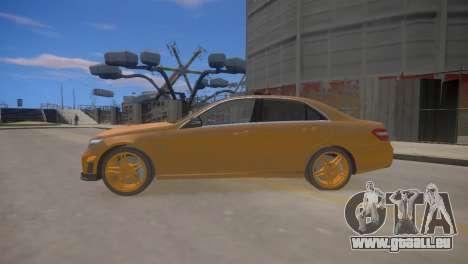 Mercedes-Benz E63 AMG для GTA 4 pour GTA 4 est une gauche