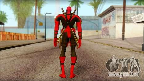 Ultimate Deadpool The Game Cable pour GTA San Andreas deuxième écran