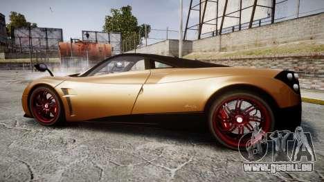 Pagani Huayra 2013 pour GTA 4 est une gauche