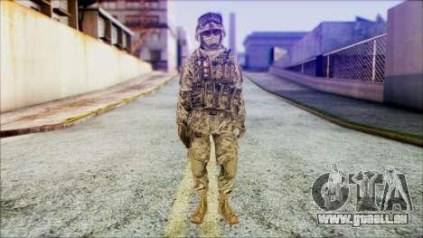 Ranger (CoD: MW2) v1 pour GTA San Andreas
