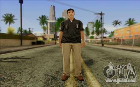 Russian Cats II Skin 3 pour GTA San Andreas