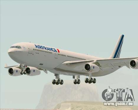 Airbus A340-313 Air France (New Livery) für GTA San Andreas