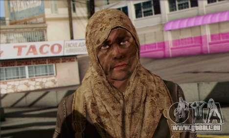 Task Force 141 (CoD: MW 2) Skin 18 für GTA San Andreas dritten Screenshot