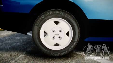 Fiat 147 Spazio-TR für GTA 4 Rückansicht