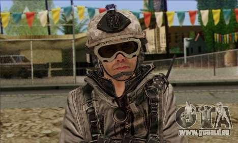 Task Force 141 (CoD: MW 2) Skin 5 pour GTA San Andreas troisième écran
