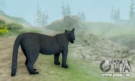Black Panther (Mammal) für GTA San Andreas zweiten Screenshot