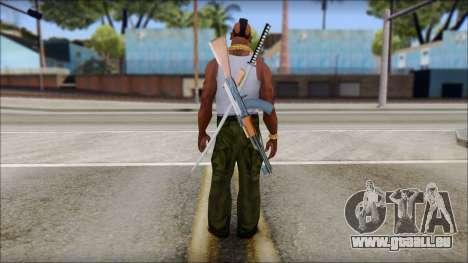 MR T Skin v10 pour GTA San Andreas deuxième écran