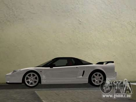Honda NSX-R für GTA Vice City Innenansicht