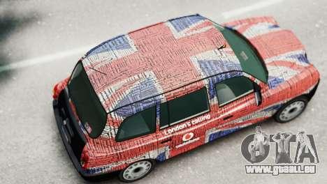 London Taxi Cab v2 pour GTA 4 Vue arrière de la gauche