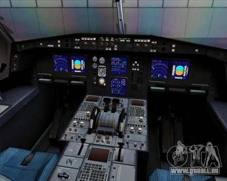 Airbus A330-300 Cebu Pacific Air für GTA San Andreas Innen