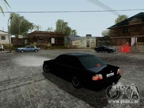 BMW 760i E38 pour GTA San Andreas vue de droite