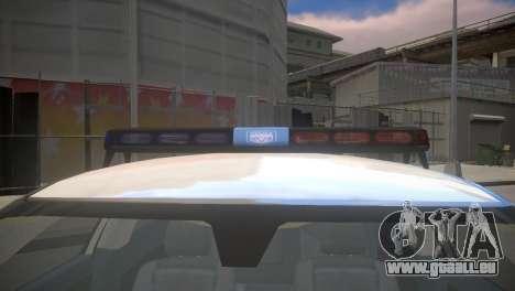 Dodge Charger Kuwait Police 2006 für GTA 4 rechte Ansicht