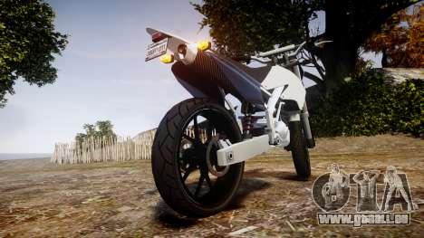 Maibatsu Sanchez pour GTA 4 Vue arrière de la gauche