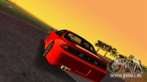 Nissan Silvia S14 RB26DETT Black Revel für GTA Vice City linke Ansicht