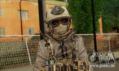 Task Force 141 (CoD: MW 2) Skin 13 für GTA San Andreas dritten Screenshot