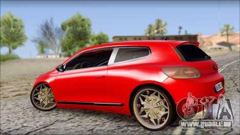 Volkswagen Scirocco Soft Tuning für GTA San Andreas linke Ansicht
