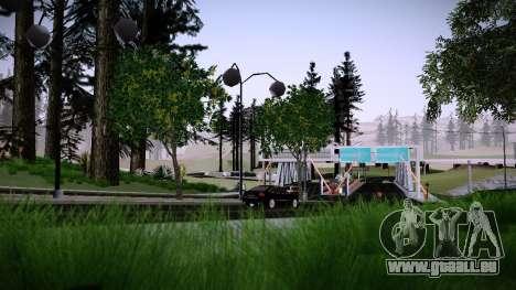 Douanes Par Makar_SmW86 pour GTA San Andreas deuxième écran