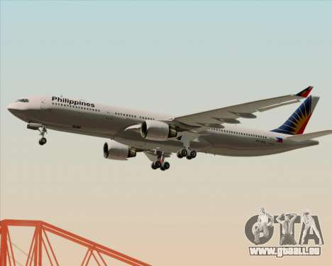 Airbus A330-300 Philippine Airlines pour GTA San Andreas moteur