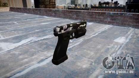 Pistole Glock 20 Sibirien für GTA 4 Sekunden Bildschirm
