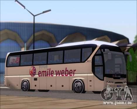 Neoplan Tourliner Emile Weber pour GTA San Andreas laissé vue
