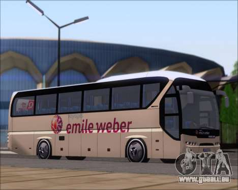 Neoplan Tourliner Emile Weber für GTA San Andreas linke Ansicht
