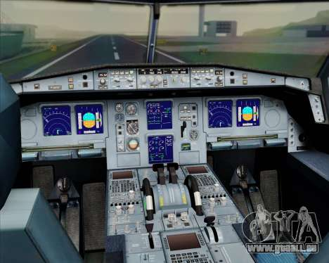 Airbus A330-300 Emirates pour GTA San Andreas salon