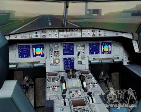 Airbus A330-300 Emirates pour GTA San Andreas salon
