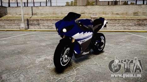 Yamaha YZF-R1 2009 für GTA 4