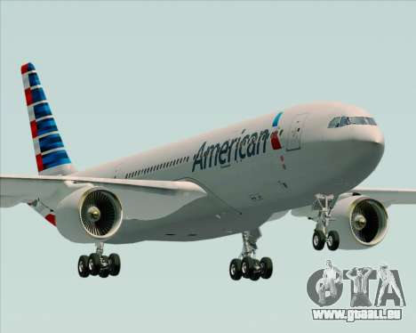 Airbus A330-200 American Airlines pour GTA San Andreas